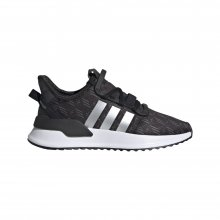 adidas Originals ADIDAS U_PATH RUN J CBLACK/MSILVE/FTWWHT