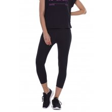 Body Action BODY ACTION WOMEN'S  HI RISE 7/8 LEGGINGS BLACK