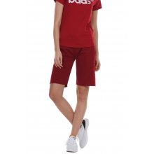 Body Action BODY ACTION WOMEN'S BERMUDA SHORTS RED