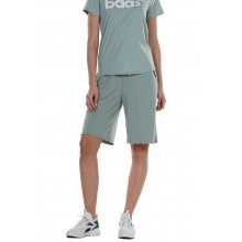 Body Action BODY ACTION WOMEN'S LOOSE FIT BERMUDA SHORTS L. GREEN
