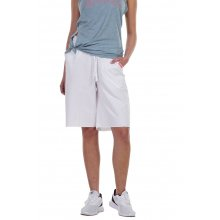 Body Action BODY ACTION WOMEN'S LOOSE FIT BERMUDA SHORTS WHITE