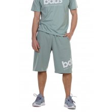 Body Action BODY ACTION MEN'S LOOSE FIT BERMUDA SHORTS L. GREEN