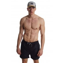 Body Action BODY ACTION MEN'S SHORT LENGTH SWIMWEAR BLACK