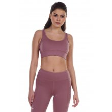 Body Action BODY ACTION WOMEN'S RACERBACK SPORTS BRA LILAC
