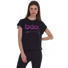 Body Action BODY ACTION WOMEN'S RELAXED FIT T-SHIRT BLACK