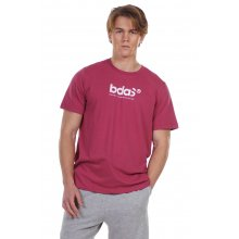 Body Action BODY ACTION MEN'S SHORT SLEEVE T-SHIRT D. PINK