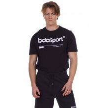 Body Action BODY ACTION MEN'S CREW NECK T-SHIRT BLACK
