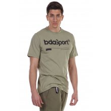 Body Action BODY ACTION MEN'S CREW NECK T-SHIRT KHAKI