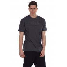 Body Action BODY ACTION MEN'S RELAXED FIT T-SHIRT BLACK
